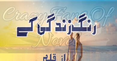Rung Zindagi Ke By Hayat Khan (Complete Novel)