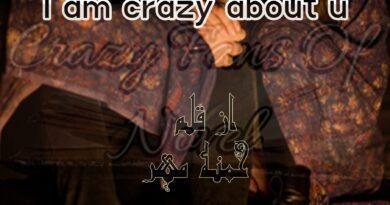 I am Crazy About u by Hamna Mehar