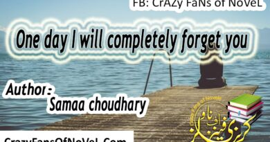 One day i will completely forget you By Samaa Chaudhary