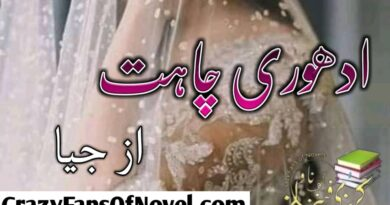 Adhori Chahat By Jia (Compleat Novel)