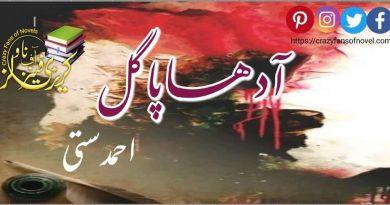 Poetry Book Aadha Paagal ٖ